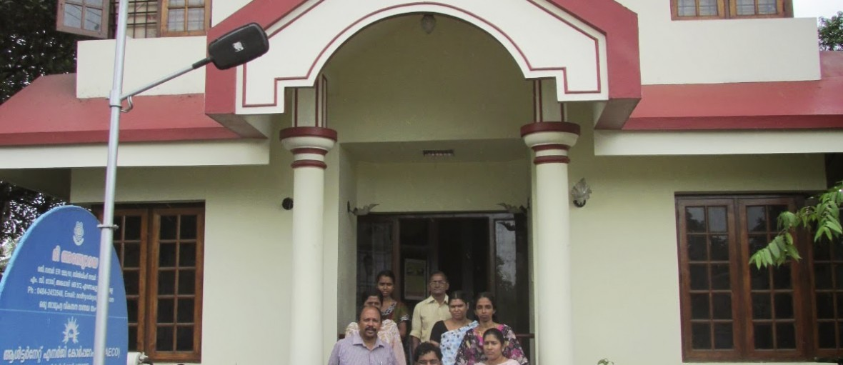 Rupesh Manne and the Andhyodaya team